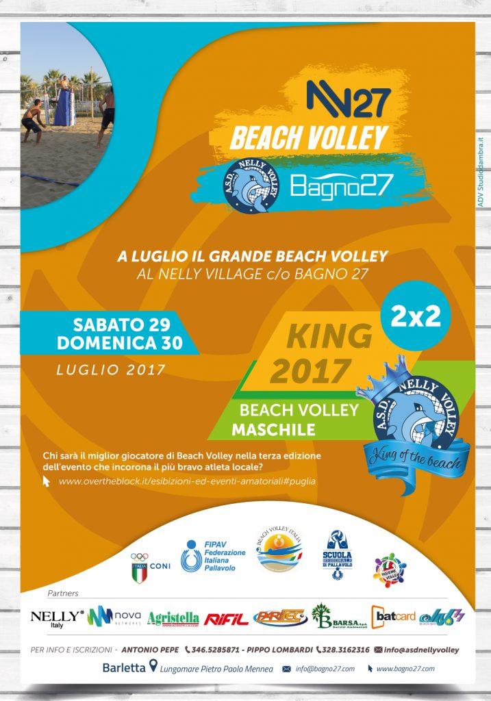 King 2017 Beach Volley Sabato 29 E Domenica 30 Luglio